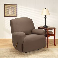 Sure Fit Recliner Slipcovers - Home Furniture Design Recliner Slipcover, Sofa, Sure Fit Slipcovers, Home Furniture, Furniture Design, Armchair, Table, Lazy, Home Decor