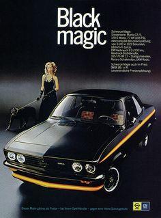 Opel Manta A (1975) GTE Black Magic