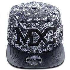 Boné MXC Original – Floral Black Caps Hats 0c0894ccb2b