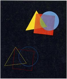 Eugen Batz, The spatial effect of colours and forms, from Wassily Kandinsky's course at the Bauhaus Dessau, 1929