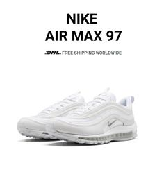 huge selection of 7f1aa de927 Buy Womens Nike AIR MAX 97 Triple White