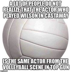 A lot of people don't realize that the actor who played Wilson in Castaway is the same actor from the volleyball scene in Top Gun. Mexican Words, Funny Images, Funny Pictures, Word Of The Day, Just For Laughs, Have Time, Funny Posts, Laugh Out Loud, The Funny