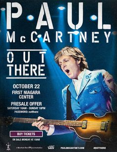 #paulmccartney #outthere www.beatlesmagazineuk.com BEATLES  MAGAZINE: PAUL IS COMING TO BUFFALO