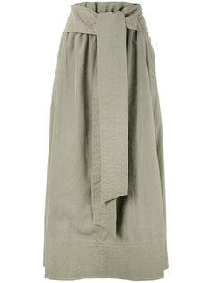 JOSEPH Drawstring Pleated Skirt. #joseph #cloth #skirt