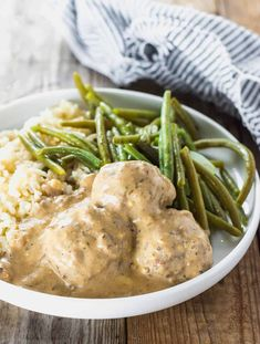 These flavorful Lentil Meatballs (Vegan, Gluten-Free) are smothered in a creamy cashew gravy will surely be a big hit at your dinner table especially during the holidays!