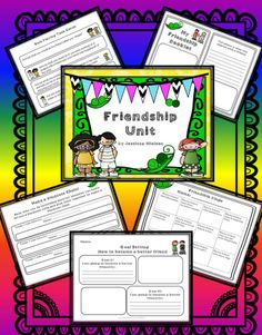 $This friendship unit is filled with a variety of cooperative learning activities, hands on activities, art projects, and writing lessons all on the topic of friendship and working together.