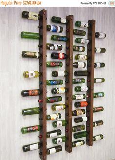 VACACIONES VENTA botellero 16 botella escaleras por VetrinaDelVino