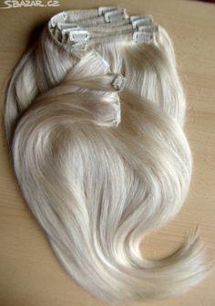 Luxusní Extra husté Clip in vlasy s - obrázek číslo 4