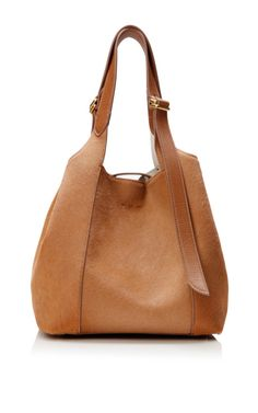 Brown Mini Faust Bag In Calf Hair by Nina Ricci for Preorder on Moda Operandi
