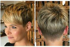 """396 kedvelés, 6 hozzászólás – Евгения Панова (@panovaev) Instagram-hozzászólása: """"@dillahajhair #pixie #haircut#short #shorthair#h#s#p #haircuts #короткиестрижки #стрижка"""""""