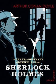 Sherlock Holmes Book Cover illustration: istvan-banyai