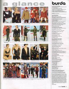 November 2002 Burda World Of Fashion Sewing Pattern Magazine Sewing Lingerie, Us Destinations, Fashion Sewing, English Language, World Of Fashion, Peace And Love, Sewing Patterns, November, Magazine