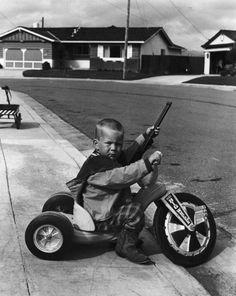 Big-Wheel Rifle Toddler