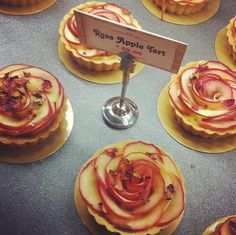 Rose Apple Tarts by Lily Vanilli at Bloomsburys Cafe Kochi, India
