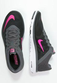 5bc9baaed834c FS LITE RUN 3 - Competition running shoes - black pink blast dark  grey white - Zalando.co.uk