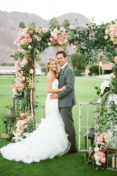 24 backdrop ideas for ceremony reception and more 9