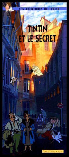 Les Aventures de Tintin - Album Imaginaire - Tintin et le Secret