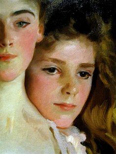 Mrs. Fiske Warren and Daughter Rachel, Detail, 1903 // John Singer Sargent / kruzito_357 via Flickr