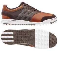 Tan Brown/Scout Metallic/Tour White... #golf #shoes