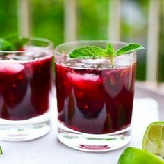 Another refreshing summer cocktail - fruity, boozy, and simply delightful!