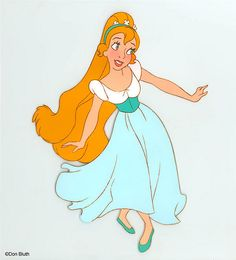 Thumbelina: Favourite Disney movie when I was a kid! Walt Disney, Disney Art, Disney Movies, Disney Girls, Disney Pixar, Cartoon Kunst, Cartoon Art, Cartoon Characters, Female Characters