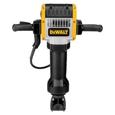 DEWALT D25980 Pavement Breaker. 61 Ft-lbs impact energy provides maximum performance. Shocks- active vibration control reduces vibration up to 70 percent, increasing user comfort and productivity. 15 amp motor provides maximum power and overload protection. Rubber coated handles provide greater comfort and control. Electronic soft start increases productivity by reducing bit walking.