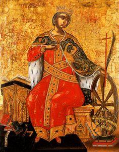 17th century Greek icon