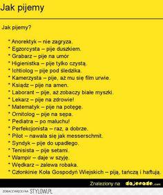 Stylowi.pl - Odkrywaj, kolekcjonuj, kupuj Funny Af Memes, Funny Quotes, Hilarious, Weekend Humor, Motto, Best Quotes, Haha, Geek Stuff, Jokes