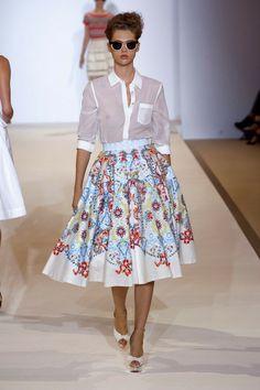 Temperley London Skirt Spring 2013