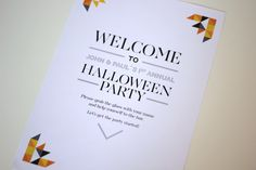 Halloween Printables: Happy Pumpkins Collection. Get it at Fandangle London: https://www.etsy.com/uk/listing/250178983/customised-printable-halloween-party-kit