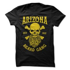 """[Best Tshirt name origin] ARIZONA BEARD GANG  Coupon Best  Badass Beard Tee For Badass Bearded Guy. Click the Green """"Click To Cart"""" Button to Order Yours Now! Available up to 4XL  Tshirt Guys Lady Hodie  SHARE and Get Discount Today Order now before we SELL OUT  Camping 2015 special tshirts arizona beard"""