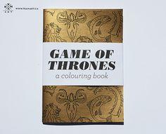 XMas gift ideas: #GameOfThrones coloring book!