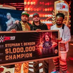 The official home of the latest WWE news, results and events. Get breaking news, photos, and video of your favorite WWE Superstars. Million Dollar Challenge, Xavier Woods, Aj Styles, Wwe News, Wwe Superstars, Champion, Challenges, Baseball Cards