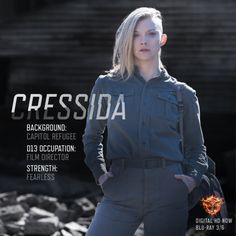 I love the character of Cressida...