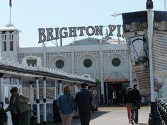 Willkommen auf dem Brighton Pier