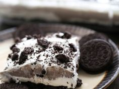 Oreo Layered Dessert from chef-in-training.com ….This recipe is so easy to make and completely delicious!