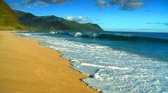 Yokohama Beach, West Side, Oahu, Hawaii  This was our favorite beach in Hawaii...