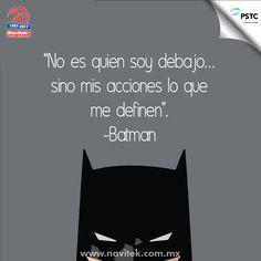 No es quien soy debajo... sino mis acciones lo que me definen. -Batman Tv Quotes, Movie Quotes, Funny Quotes, Life Quotes, Disney S, Disney Movies, Me And My Dog, Cute Words, Simple Quotes