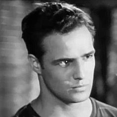 """Marlon Brando - Screentest for """"Rebel Without a Cause"""""""
