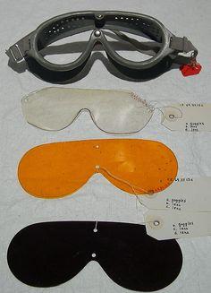 Ski goggles, ca. 1960. American. The Metropolitan Museum of Art, New York. Gift of Mr. and Mrs. Burton Tremaine, 1969 (C.I.69.37.13a–d) #olympics #skiing