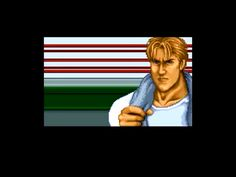 "* A click on the image will move you to the corresponding page.  SNES beat 'em up video game, ""Final Fight"" playing image ""Opening, Cody exposes anger to Mad Gear gang"".   #SNES #Beat_em_up #GAME #Capcom #FinalFight"