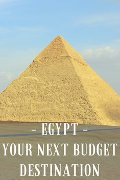 Egypt may not be your first thought as a budget traveller, but it should be!  Let us show you cheap food in egypt, cheap accommodation in Egypt, cheap transport in Egypt, a great exchange rate with Egypt, cheap tourist sites in Egypt and why we love Egypt for backpackers ! It really is a budget travel destination. If you are going to visit Egypt, might want to travel to Egypt or know someone who is going to Egypt, save this Pin and share it!  #egypttravel #egyptbudget #egyptcheap #budgetegypt Cheap Travel, Budget Travel, Travel Tips, Travel Ideas, Travel Hacks, Travel Goals, Egypt Travel, Africa Travel, Us Travel Destinations