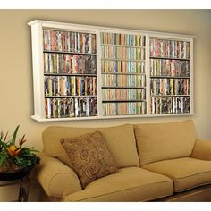 Keep Your DVD Storage In A Media Cabinet