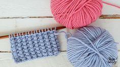 Punto con textura para mantas cojines almohadones-Soy Woolly