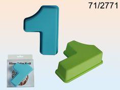 Flotte silikone bageforme som er formet som nummer 1 i tal fra Sjovogkreativ.dk i god kvalitet.