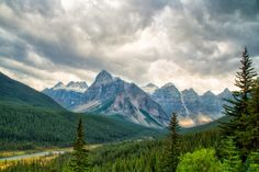 ***Rocky Mountains (on the road to Moraine Lake) by Silvia and Juan