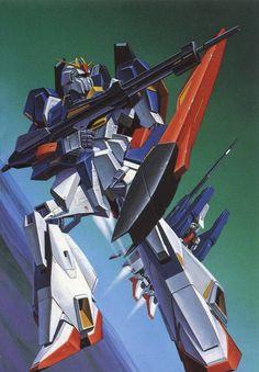 a collection of gundam artwork from around the web Zeta Gundam, Gundam Wallpapers, Robot Art, Robots, Gundam Art, Mecha Anime, Super Robot, Gundam Model, Mobile Suit