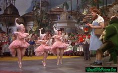 Munchkins Wizard Of Oz. the middle one is my grandmas cousin. Small world...