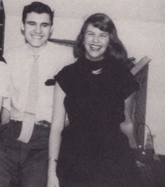 Sylvia in 1953 with friend Myron (Mike) Lotz