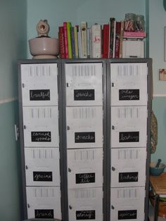 I just bought two different sets of lockers, can't wait to get them home!